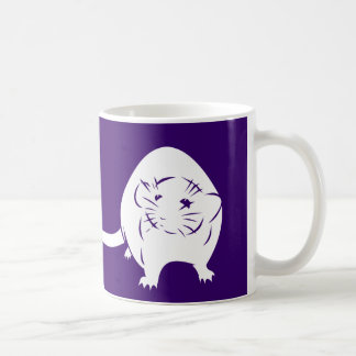 Love me,love my rats! classic white coffee mug