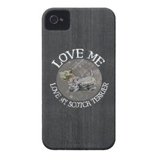Love Me, Love My Scotch Terrier Case-Mate iPhone 4 Case