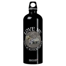 Love Me, Love My Scotch Terrier SIGG Traveler 1.0L Water Bottle