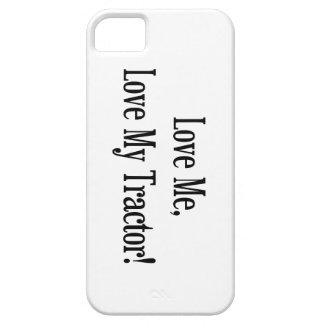 Love Me Love My Tractor iPhone SE/5/5s Case
