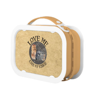 Love Me Love My Yorkie Lunch Boxes