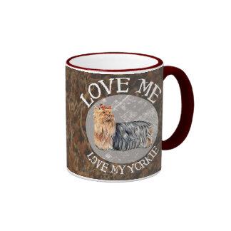 Love me, love my Yorkie Mug