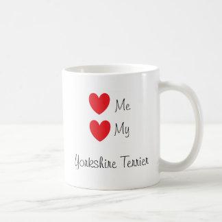 """Love me, Love my Yorkshire Terrier"" Mug"