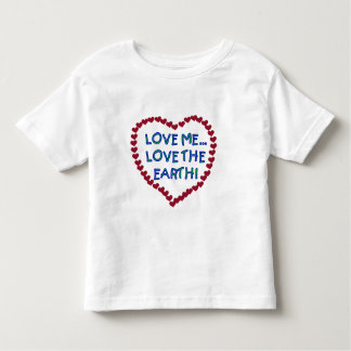 Love Me Love the Earth T-shirts and Gifts
