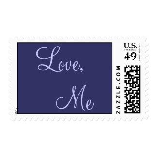 Love Me Postage Stamp