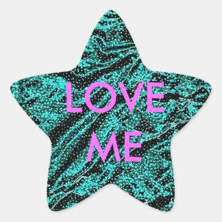 LOVE ME - STAR STAR STICKER