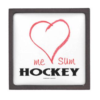 LOVE ME SUM HOCKEY JEWELRY BOX