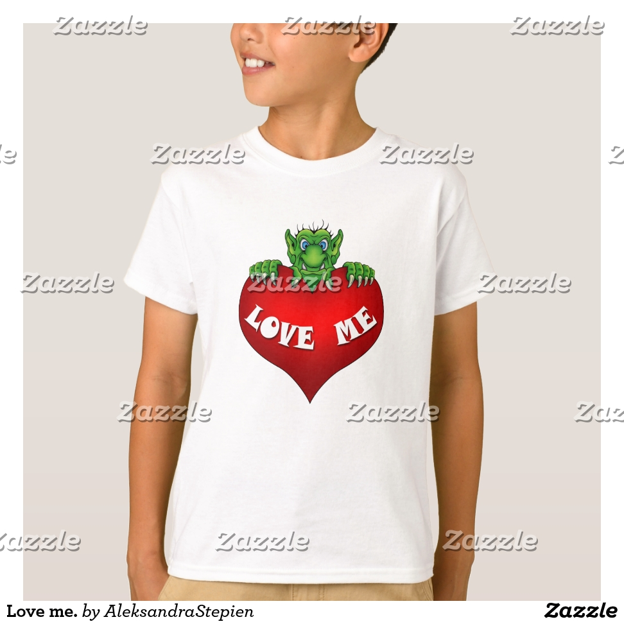 Love me. T-Shirt - Comfortable Kids' Long Sleeve T-Shirt Designs
