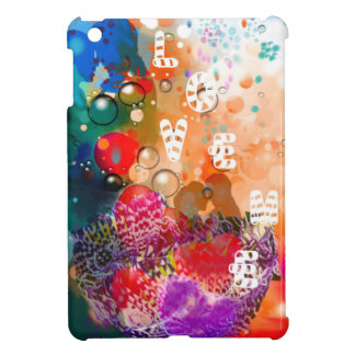 Love me. with all my heart iPad mini cases