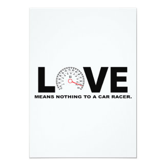 Love Means Nothing to a Car Racer 2 Card