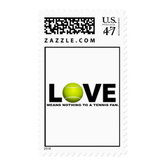 Love Means Nothing to a Tennis Fan Postage