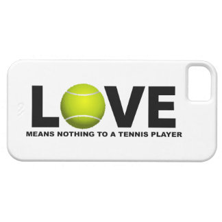 Love Means Nothing to a Tennis Player iPhone 5 iPhone SE/5/5s Case