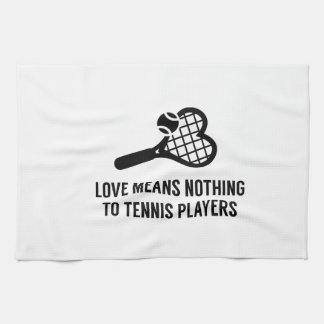 Love Means Nothing Towel