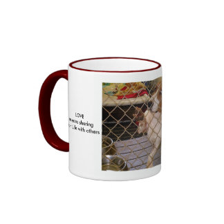 LOVE means sharing your Life... Mugs