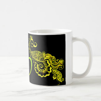 Love mehndi coffee mug