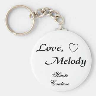 love melody  Haute Couture - Customized Keychain