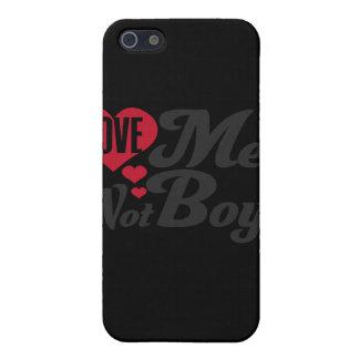 Love Men Not Boys Case For iPhone 5