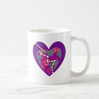 love mends classic white coffee mug
