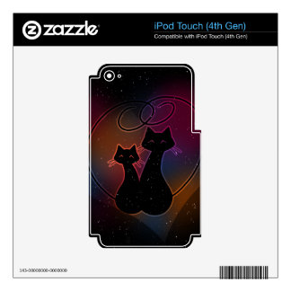 Love Meow Forever iPod Touch 4G Skins