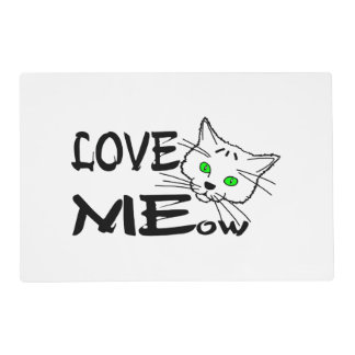 Love MEow Placemat