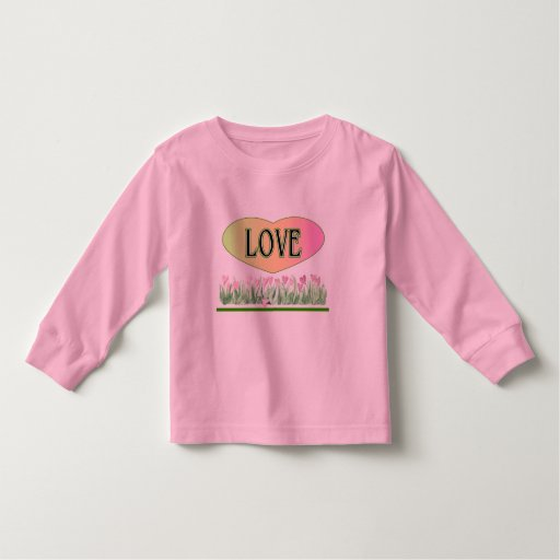 Love merchandise t shirts