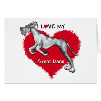 Love Merle Great Dane UC Cards