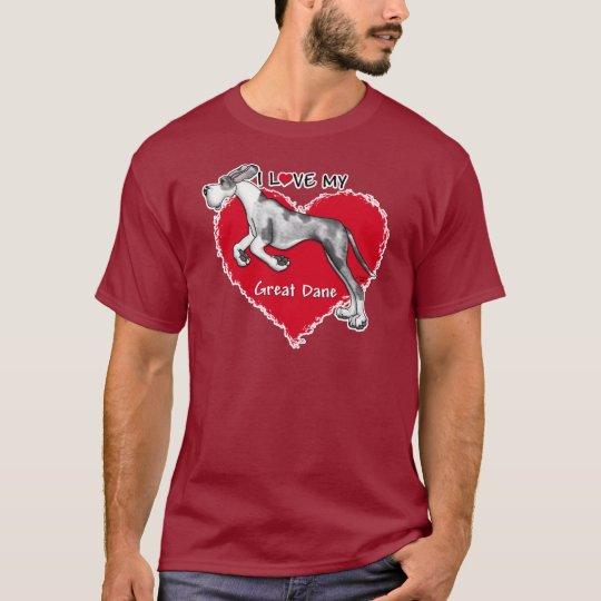 Love MerleB Great Dane UC T-Shirt