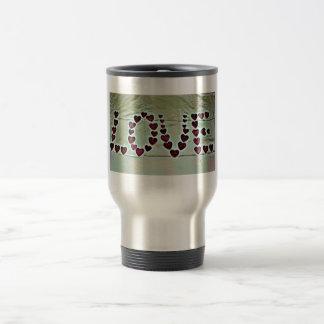 Love Message Travel Mug
