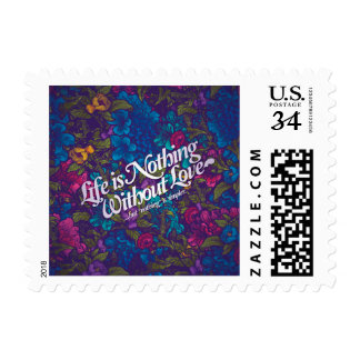 love messages postage stamp