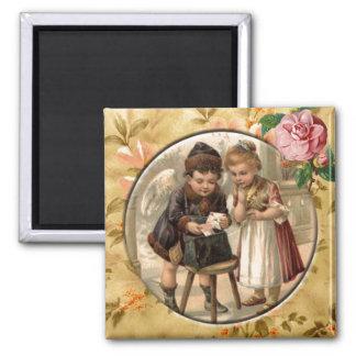 Love Messenger Vintage Victorian Custom Magnet