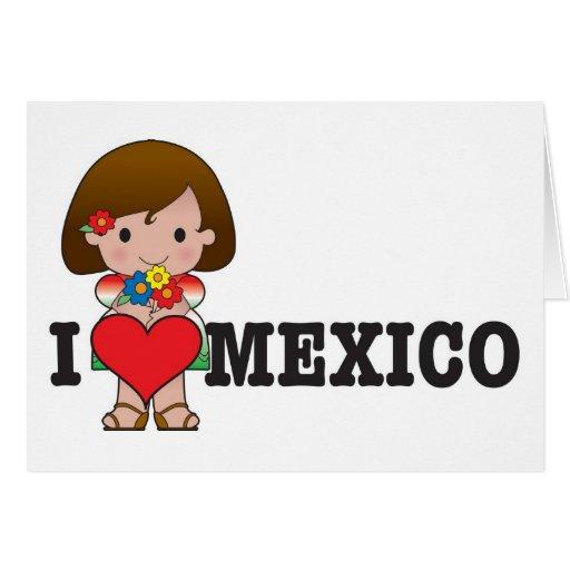 Love Mexico Card