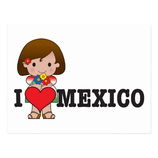 Love Mexico Post Cards