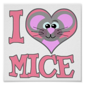 love mice print