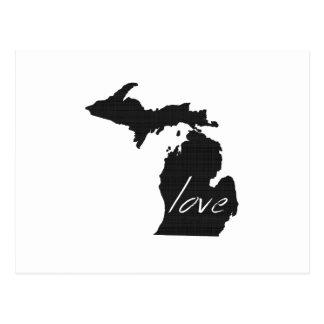 Love Michigan Postcard