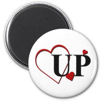Love Michigan UP Heart Design Magnet