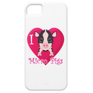 Love Micro Pigs iPhone 5 Covers