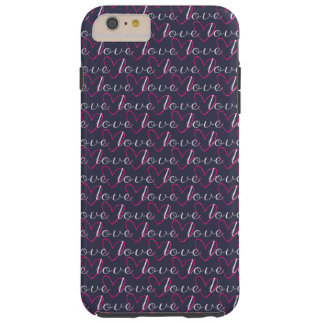 Love Midnight Blue Case-Mate Tough iPhone 6/6s