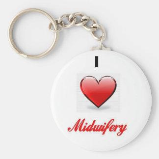 love midwifery keychain