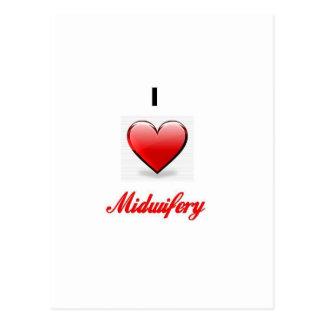 love midwifery postcard