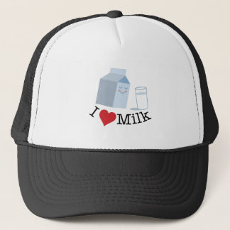 Love Milk Trucker Hat