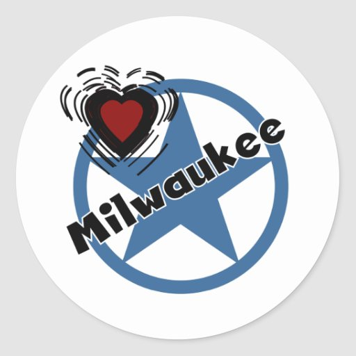 Love Milwaukee Stickers
