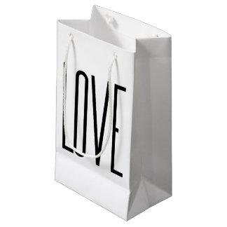 Love - Minimalist Design Small Gift Bag
