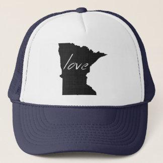 Love Minnesota Trucker Hat