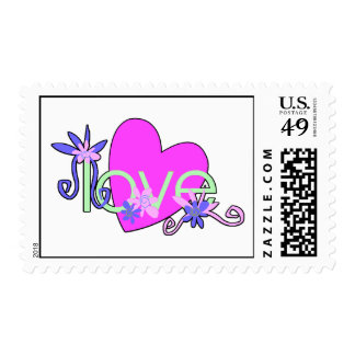 Love Mints For Valentine's Day Postage Stamp