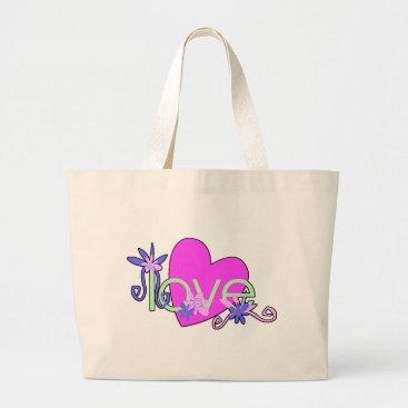 Beach Themed Love Mints Tote Bags, Beach Bags, Baby Diaper Bags