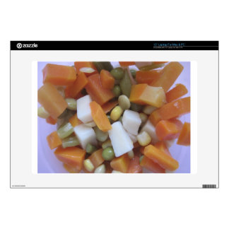 """Love Mixed Vegetables Skin For 15"""" Laptop"""