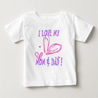 Love Mom Dad Tshirts
