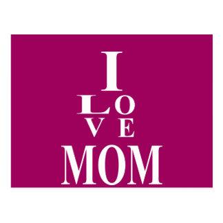 Love MoM Images Postcard