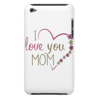 Love Mom Mothers Day Heart iPod Touch Cover