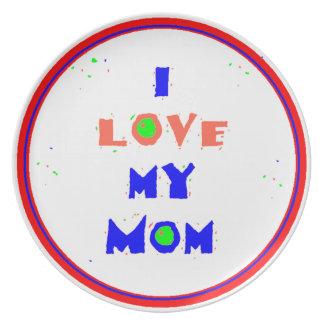 Love MOM Plate